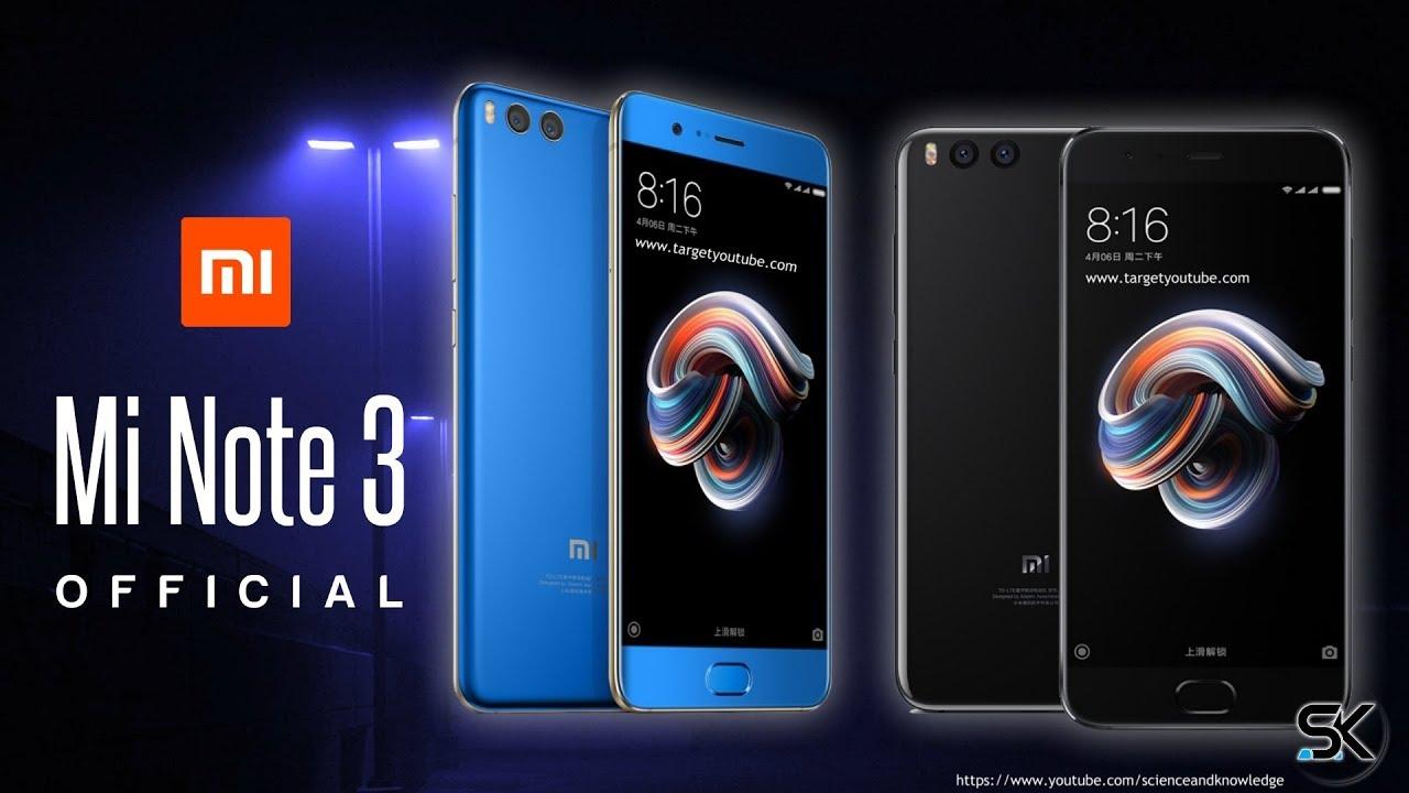 Xiaomi Mi Note 3 64 128gb Rom 6gb Ram Global Unlocked Trusted Redmi 5 Pro 64gb New Original Snapdragon 660 In Black Pictured Above